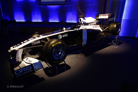 novo Williams FW31