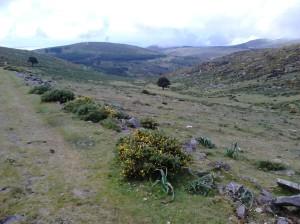 """Vista do """"altiplano"""""""